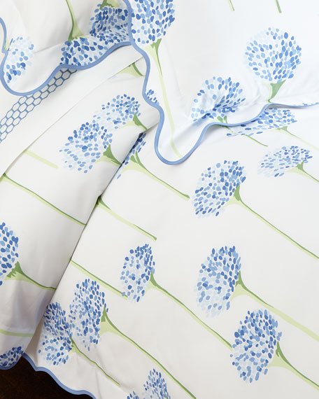 Matouk Full/Queen Charlotte Duvet Cover