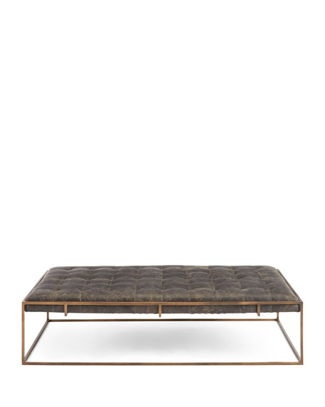Leroy Leather Coffee Table