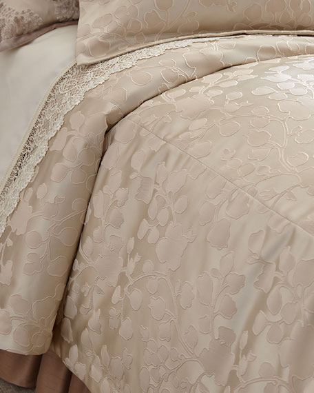 Queen Aristocrat Leaf Duvet Cover