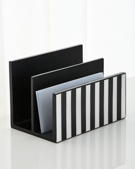 Stripe Letter Holder