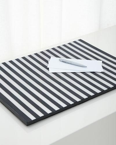 Stripe Desk Pad