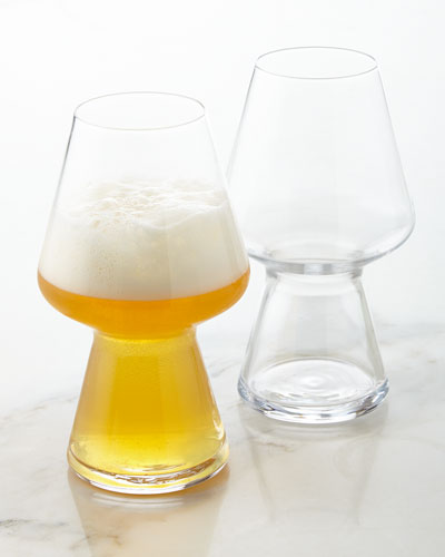Seasonal Beer Glasses, Set of 2