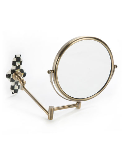 Courtly Check Articulated Bath Mirror