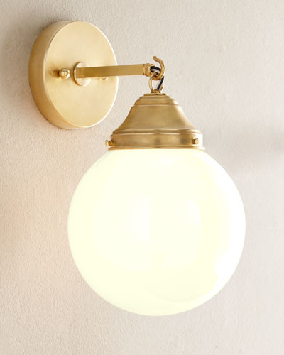 Orb Indoor/Outdoor Sconce