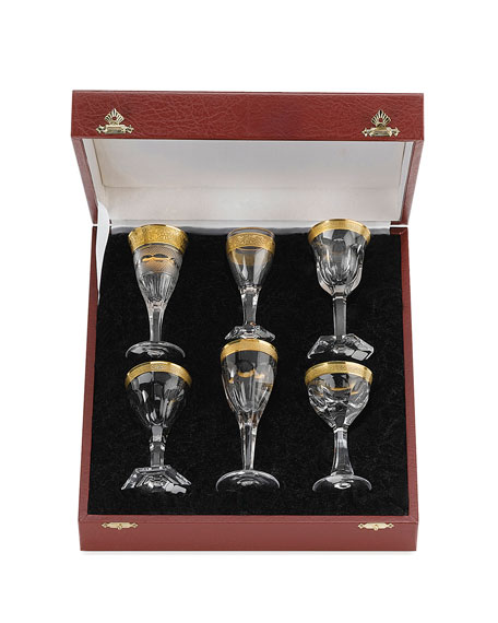 Moser Liqueur Glasses, 6-Piece Set