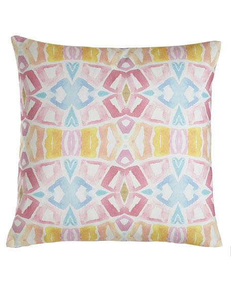 "Lemon Tree Pillow, 20""Sq."