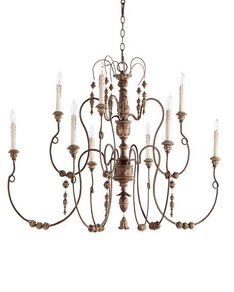 Salento 12 light copper chandelier aloadofball Gallery