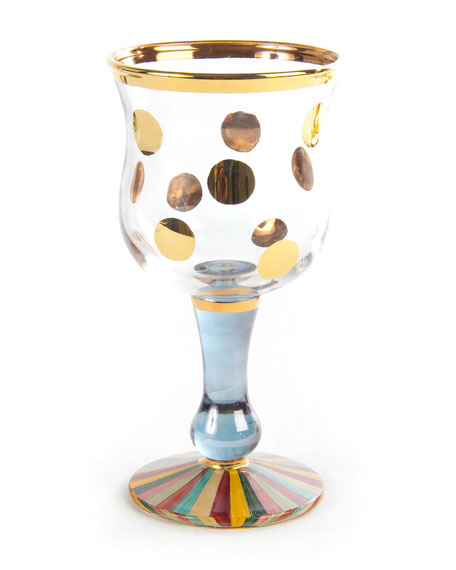 Foxtrot Wine Glass