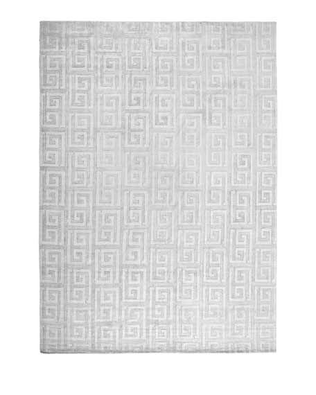 Sadie Greek-Key Rug, 6' x 9'