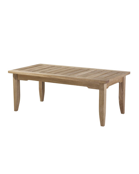 Edgewood Rectangular Outdoor Coffee Table