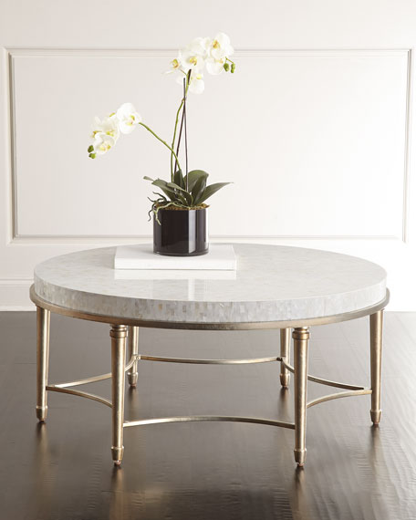Cynthia Rowley For Hooker Furniture Aura Round Coffee Table