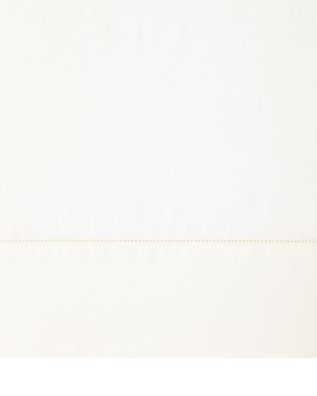 King N45 Classico Italian Giza Percale Flat Sheet