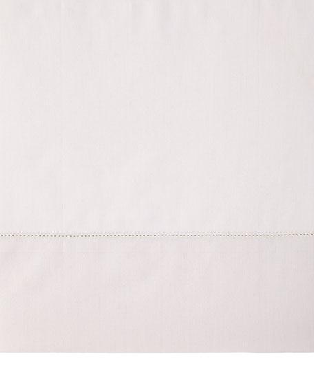 Queen N45 Classico Italian Giza Percale Flat Sheet