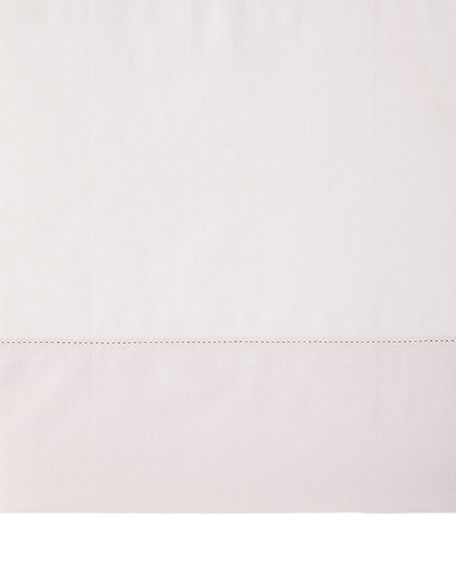 Queen N45 Classico Italian Giza Percale Fitted Sheet