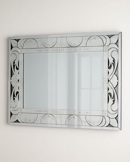 Shell Venetian Mirror