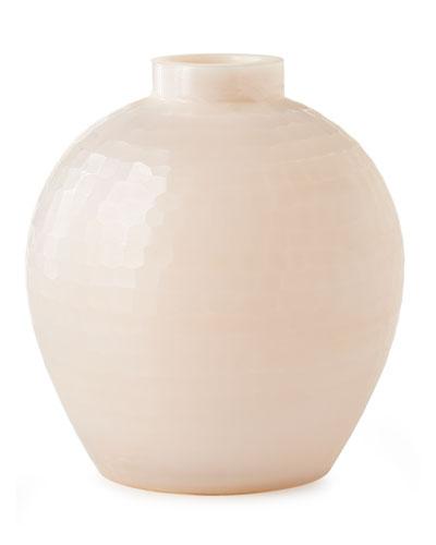 Milky Blush Vase