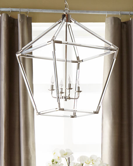 Acrylic 4-Light Lantern