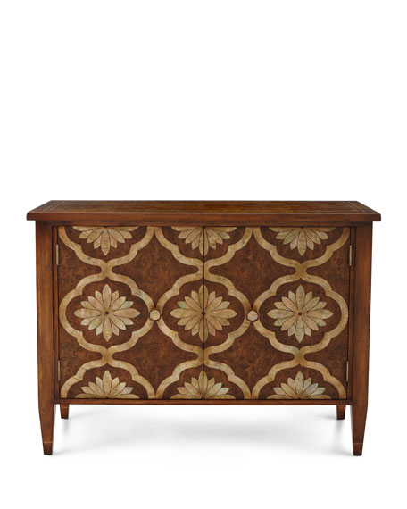 Grant Park Mother Of Pearl Inlay Cabinet