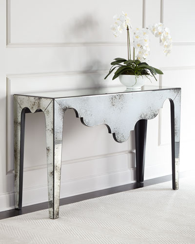 Renata Mirrored Console