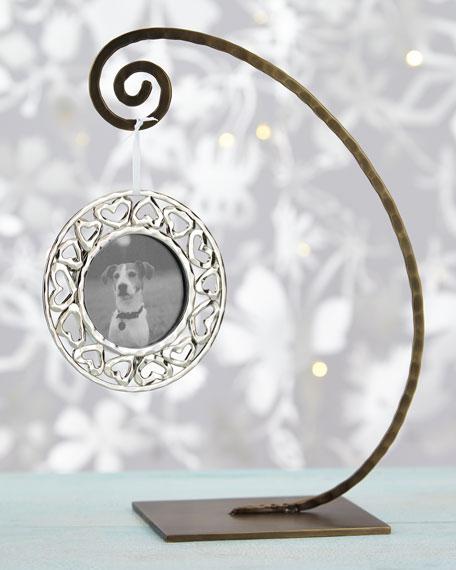 Heart Frame Christmas Ornament