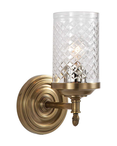 Lita Brass Single Sconce
