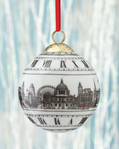 Big Ben London Ball Christmas Ornament