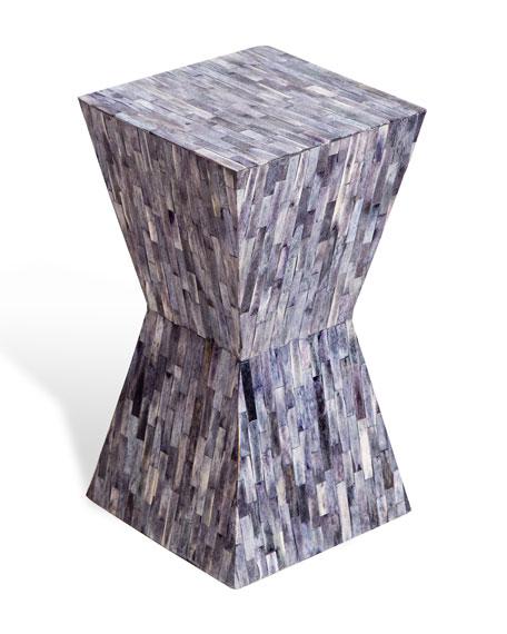 Interlude Home Iman Bone Side Table