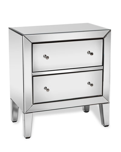 Naomi Mirrored Accent Chest