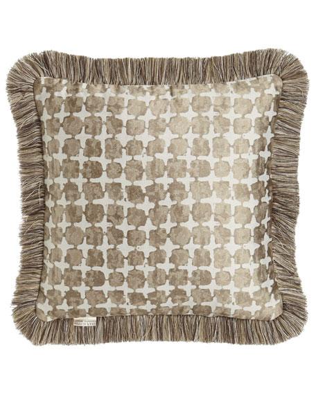 "Driftwood Reversible Pillow, 18""Sq."