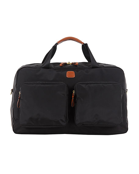 Black X-Bag Boarding Duffel with Pockets