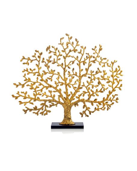Michael Aram Tree of Life Golden Fireplace Screen