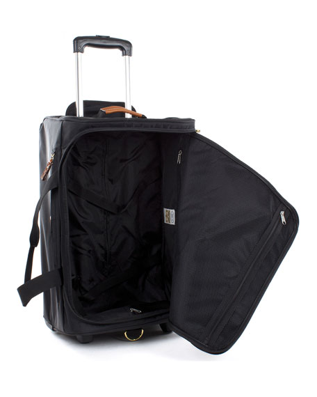 "Black X-Bag 21"" Carry-On Rolling Duffel Luggage"