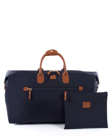 "Navy X-Bag 22"" Deluxe Duffel Luggage"