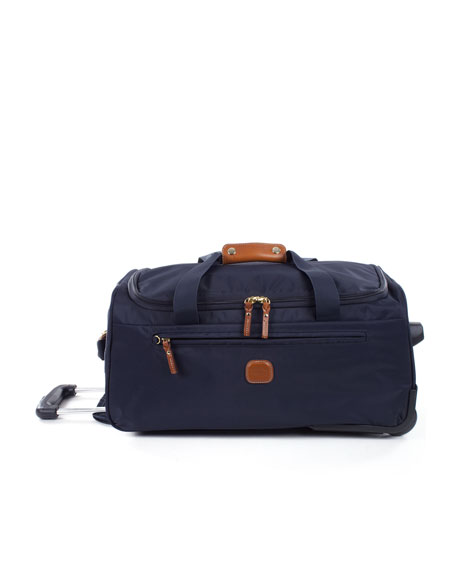 "Navy X-Bag 21"" Carry-On Rolling Duffel Luggage"