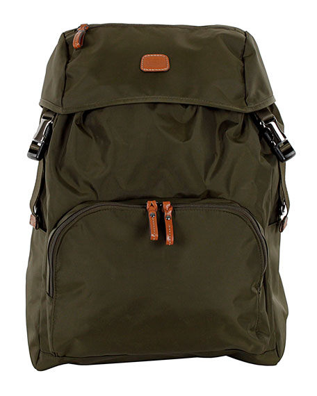Olive X-Bag Excursion Backpack