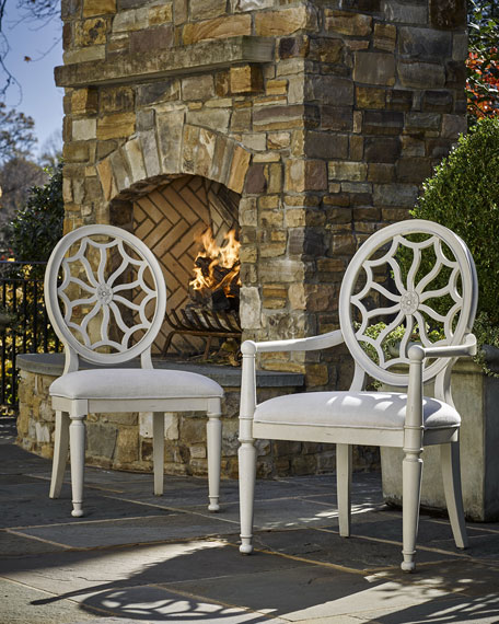Elliott Dining Armchairs, Pair