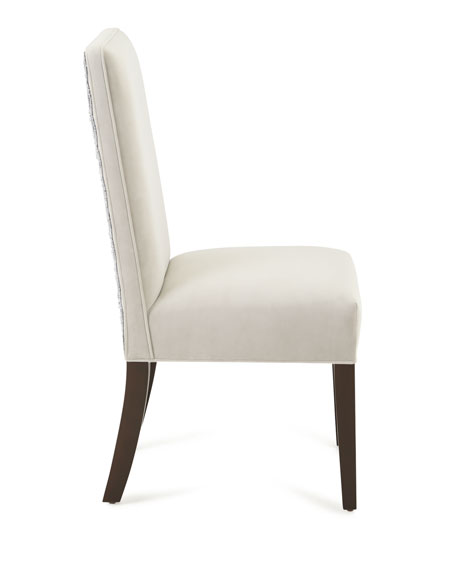 Silver Caramel Dining Chair