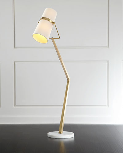 Floor Lamps Crystal Amp Brass Floor Lamps At Neiman Marcus Horchow