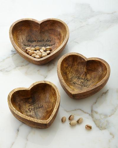 Gratitude Bowls, 3-Piece Set