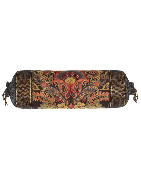 "Shangri-La Neck Roll Pillow, 8"" x 22"""