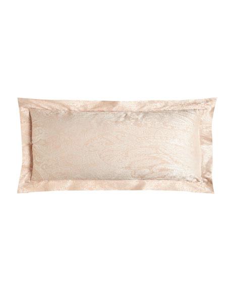 "Primavera Paisley Boudoir Pillow, 12"" x 16"""