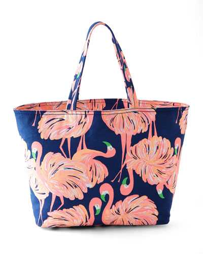 Gimme Some Leg Palm Beach Tote
