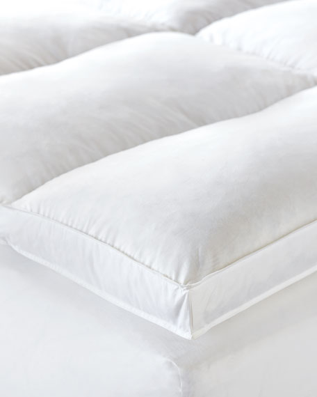 King Allendale Faux-Down Mattress Topper