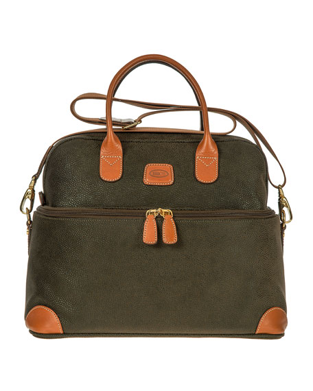 Bric's Life Olive Tuscan Train Case Luggage