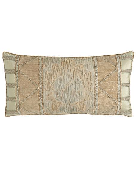 "Gwenneth Pieced Pillow, 14"" x 28"""