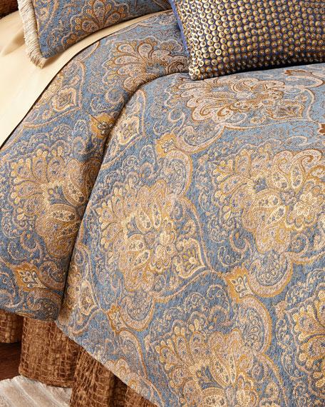 Queen Lantana Duvet Cover