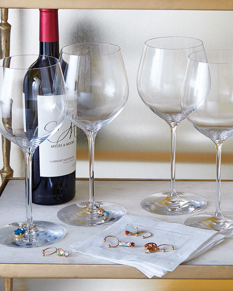 Wine Charms, 6-Piece Set