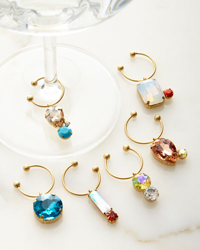 Wine Charms  6-Piece Set