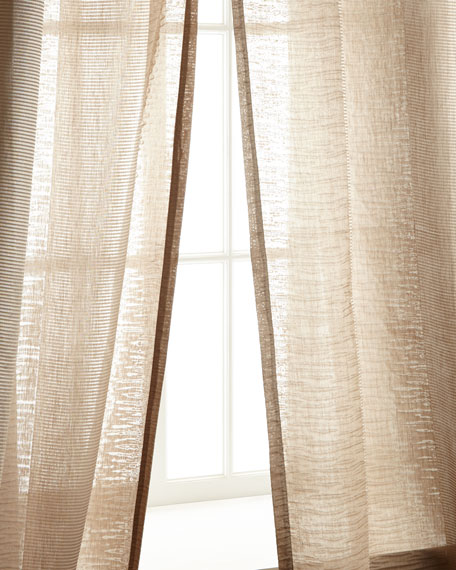 "Each 54""W x 108""L Encore Stripe Curtain"