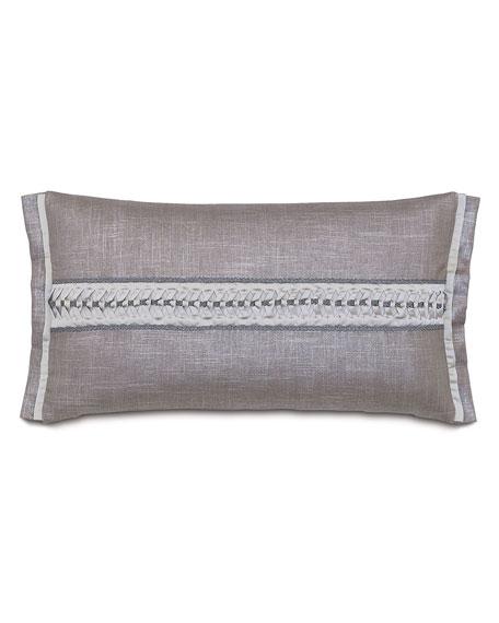 "Amal Reflection Pillow, 15"" x 26"""